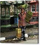 Bali Indonesia Proud People 1 Canvas Print