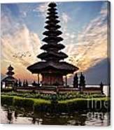 Bali Water Temple 2 Canvas Print