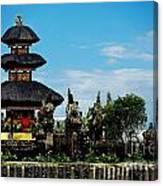 Bali Wayer Temple Canvas Print