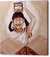 Balikbayan Box Canvas Print