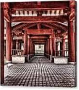 Balikun Xibo Temple Canvas Print