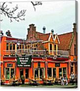 Balkan Restaurant In Enkhuizen-netherlands Canvas Print