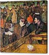 Ball At The Moulin De La Galette Canvas Print