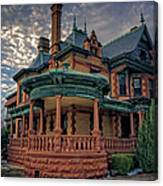 Ball Eddleman Mcfarland House Canvas Print