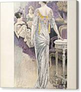 Ball Gown Canvas Print