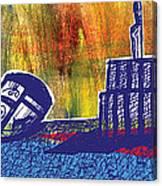 Ballcrestboxbird Canvas Print