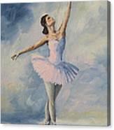 Ballerina 001 Canvas Print
