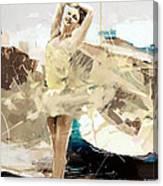 Ballerina 34 Canvas Print