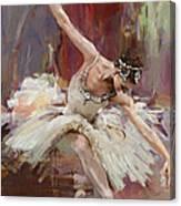 Ballerina 36 Canvas Print