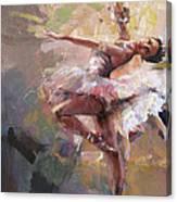 Ballerina 40 Canvas Print