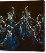 Ballerina Ghosts Canvas Print
