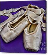 Ballerina Slippers Canvas Print