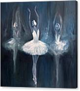 Ballerina. Swan Lake. Canvas Print