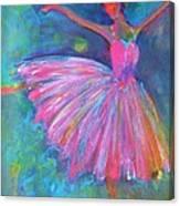 Ballet Bliss Canvas Print