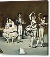 Ballet Espagnol Canvas Print