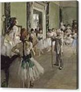 Ballet School Canvas Print