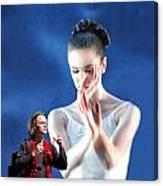 Ballet With A Stranger Canvas Print