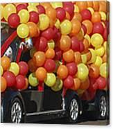 Balloon Car Canvas Print