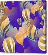 Balloon Fantasy Canvas Print