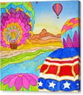 Balloon Festival Yuma Canvas Print