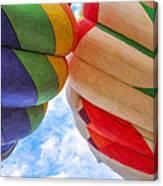 Balloon Fist Bump Canvas Print