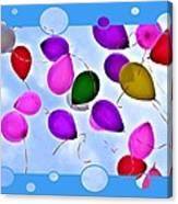 Balloon Frenzy Canvas Print