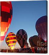 Balloon-glow-7783 Canvas Print