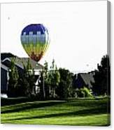 Balloon House Canvas Print
