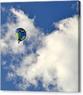 Balloon In The Clouds Canvas Print
