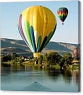 Balloon Reflections Canvas Print