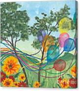 Balloon Release Canvas Print