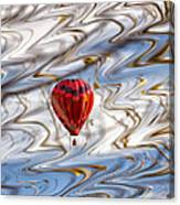 Balloon Shimmy Canvas Print