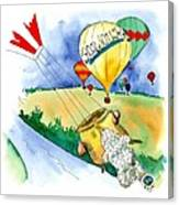 Ballooning In France Canvas Print