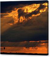 Ballooning With The Gods Canvas Print