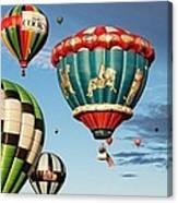 Balloons Away Canvas Print