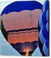 Balloons Before Sunset Canvas Print