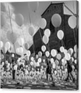 Balloons For Charity Canvas Print