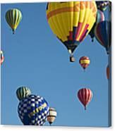 Balloons Galore Canvas Print