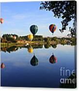 Balloons Heading East Canvas Print