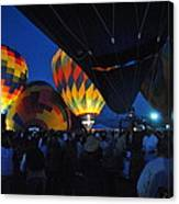 Balloons In The Crowd Canvas Print