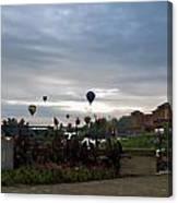 Balloons Over Lewiston Canvas Print