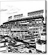 Ballpark Canvas Print