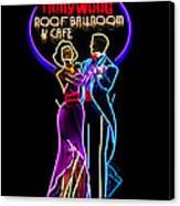 Ballroom Dancing Sign Canvas Print