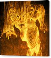 Balrog Of Morgoth Canvas Print