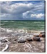 Baltic Beach Canvas Print
