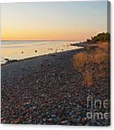 Baltic Sea Coast Canvas Print