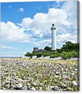 Baltic Sea Lighthouse Canvas Print