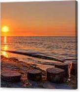 Baltic Sun Canvas Print