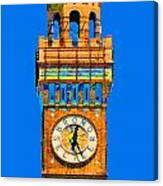 Baltimore Clock Tower Canvas Print
