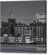 Baltimore Domino Sugars Plant II Canvas Print